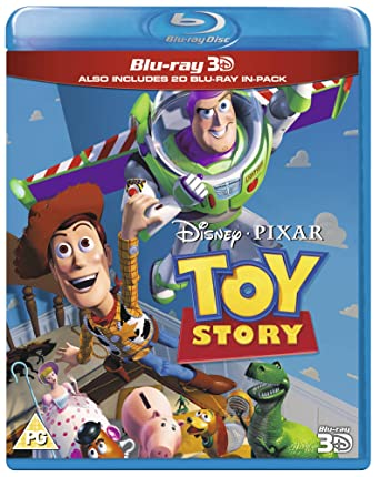 amazon com toy story blu ray 3d 2d region free uk import