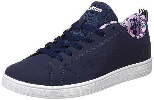 Adidas Advantage Clean K Stiefel Blu-3½