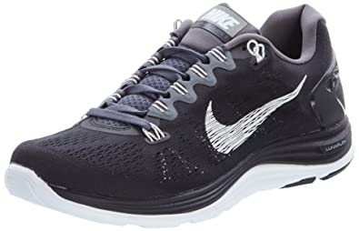 meet d5d1a 0f1ff ... australia mens nike lunarglide 5 running shoe black dark grey white size  9 2f4a0 4953a