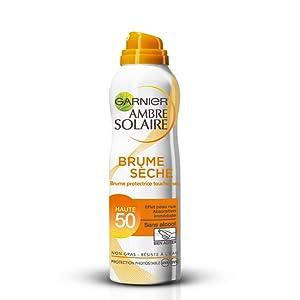 Garnier Ambre Solaire Brume Protectrice Toucher Sec FPS 50 200 ml