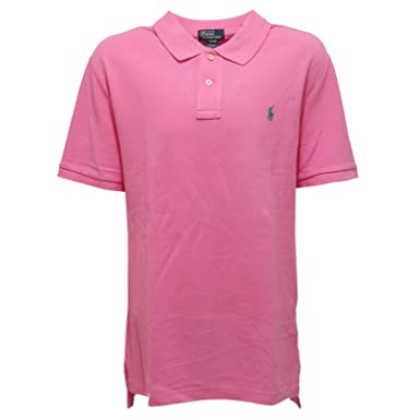 Ralph Lauren 6637S Polo Bimbo Rosa Maglia t-Shirt Polo Kid  XL(18-20  Years   Amazon.fr  Vêtements et accessoires 58b584cf1d0d
