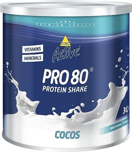 Inko Active Pro 80 Proteína: Amazon.es: Salud y cuidado personal