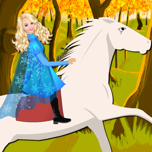 Princess Eve Ride White Horse