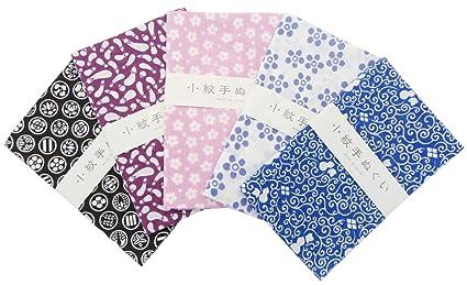 """Toalla """"Tenugui Small Patrón 5 Tipo de Juego Basic pattern-2 japonesa tradicional"""