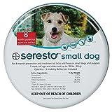 Seresto Flea & Tick Bayer Collar Small Dogs UNDER 18LBS (15.5 in)