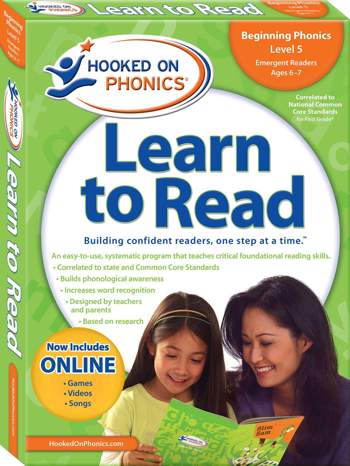 Learn to Read First Grade Level 1 (Hooked on Phonics: Learn to Read)