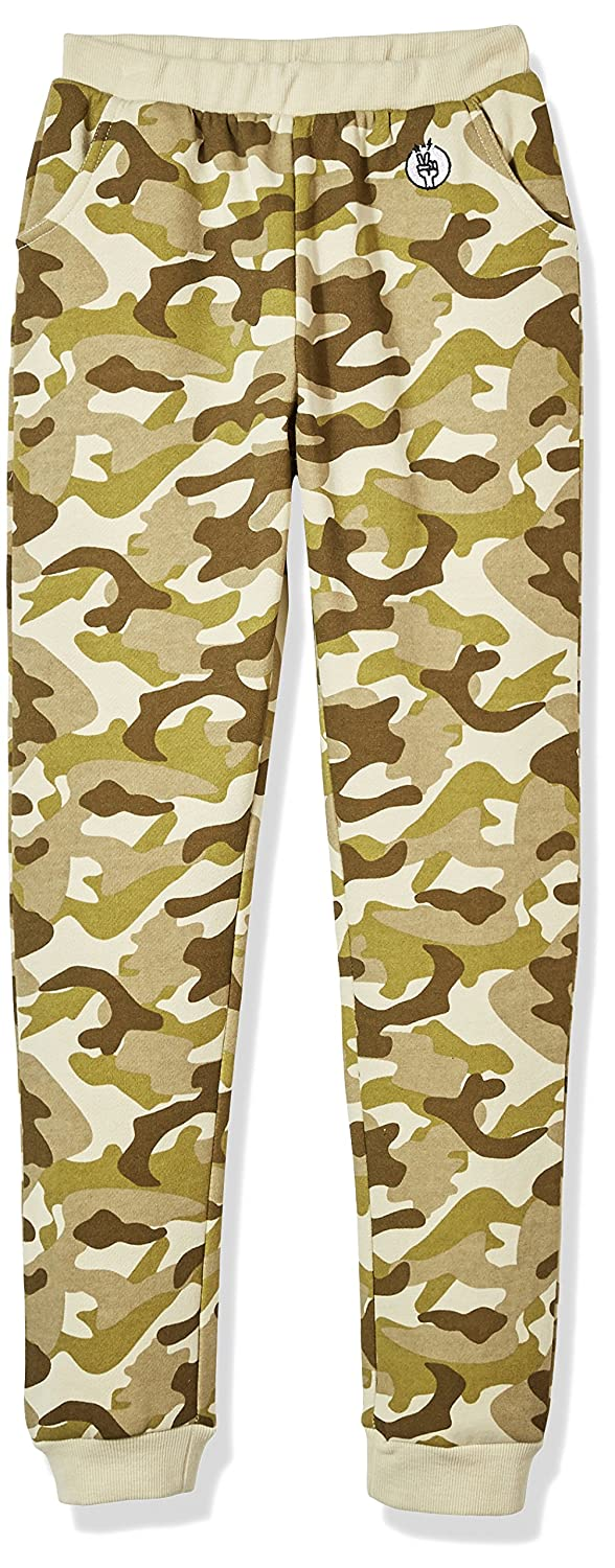 Kid Nation Kid's Camo Casual Jogger Pants for Boys and Girls KNB170300085