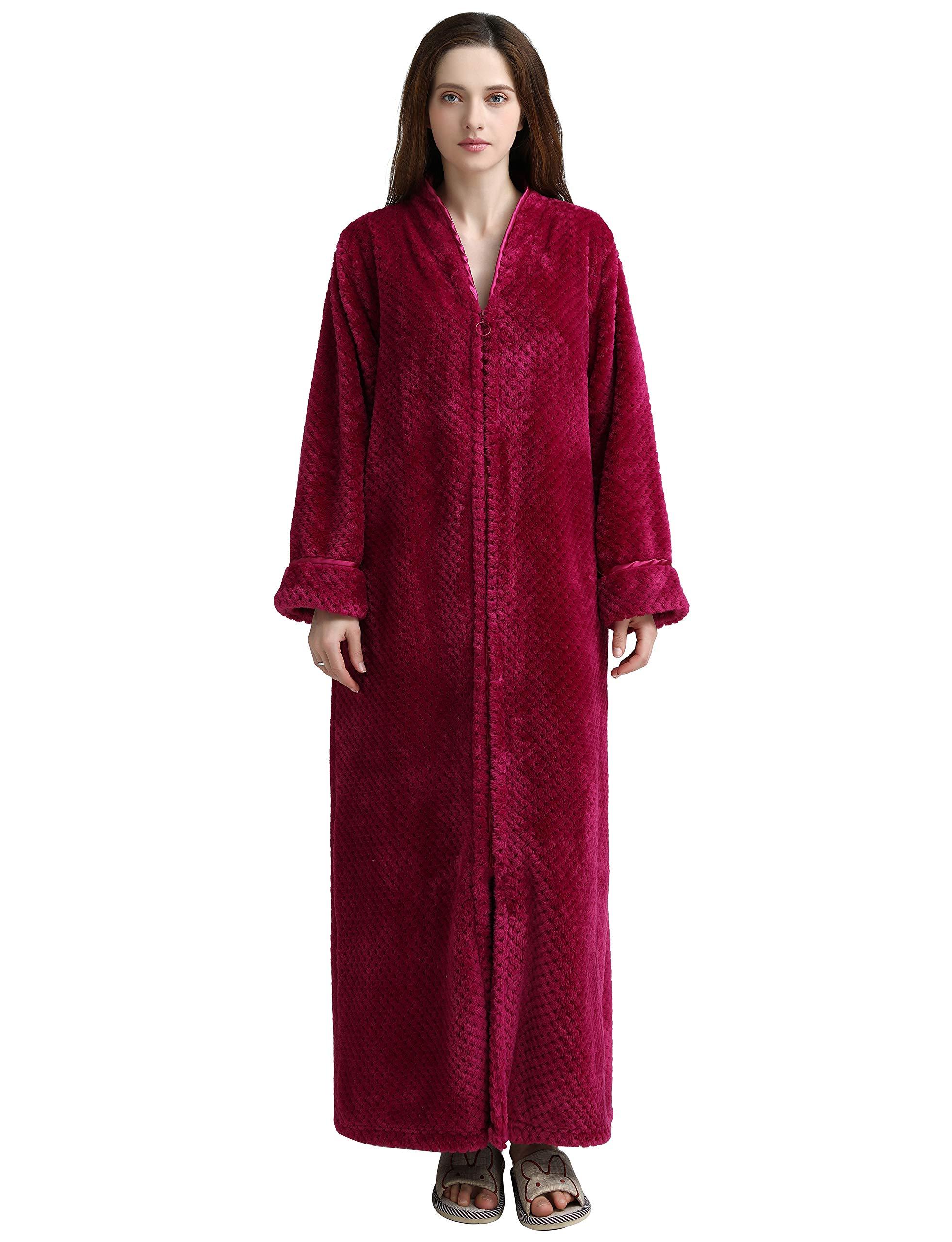 SEEU Shower Robe for Women Rose XL