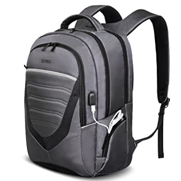 Amazon.com: DTBG Durable Laptop Backpack with USB Charging Port ...
