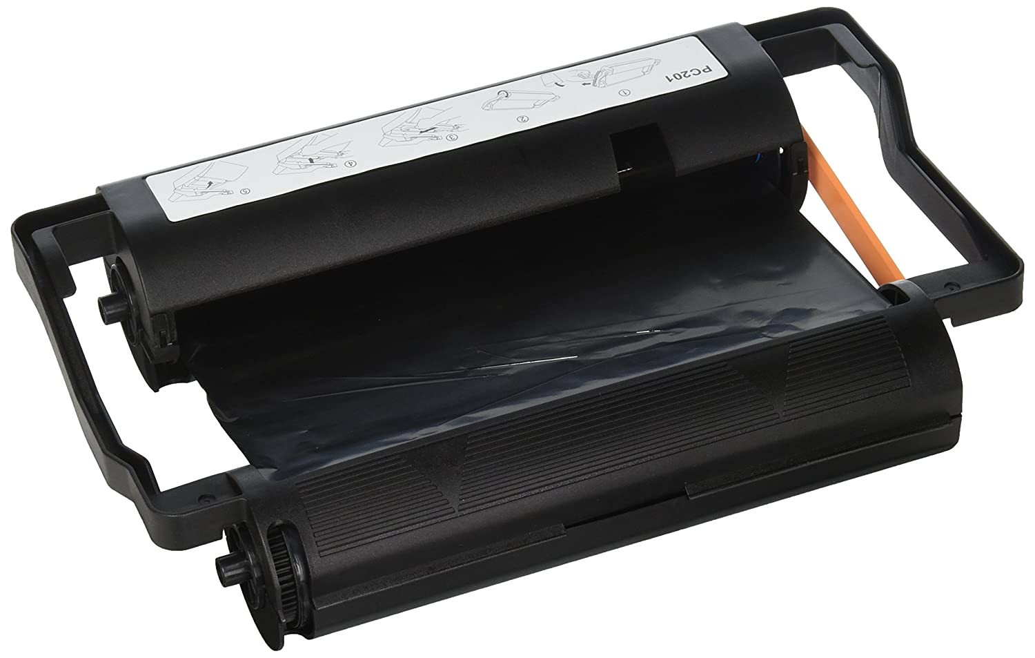 Elite Image Remanufactured Brother PC-201 Thermal Fax Cartridge -Black -Thermal Transfer -450 Page -1 Each -Remanufactured S.P. Richards CA ELI75001