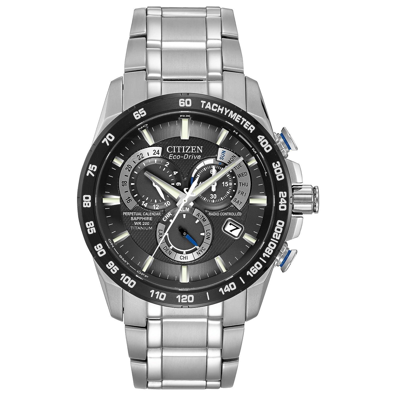 6287c4e32 Citizen Men's Perpetual Chrono A-T Watch AT4010-50E: Citizen: Amazon ...