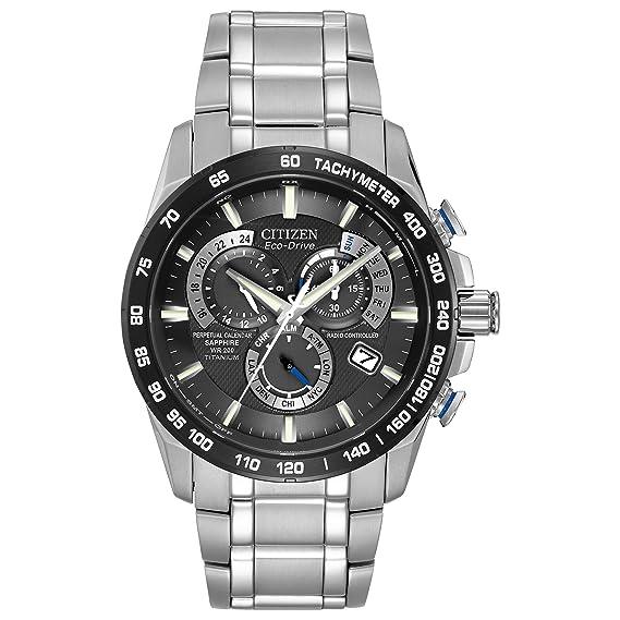 f2deaf033 Citizen Men's Perpetual Chrono A-T Watch AT4010-50E: Citizen: Amazon ...