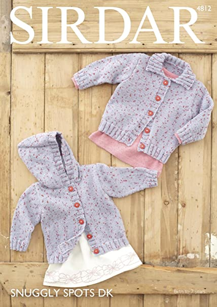 a07d9b280519 Sirdar 4812 Knitting Pattern Baby Childrens Cardigans in Sirdar ...