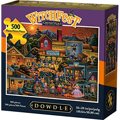 Dowdle Jigsaw Puzzle - Witchfest - 500 Piece: Toys & Games