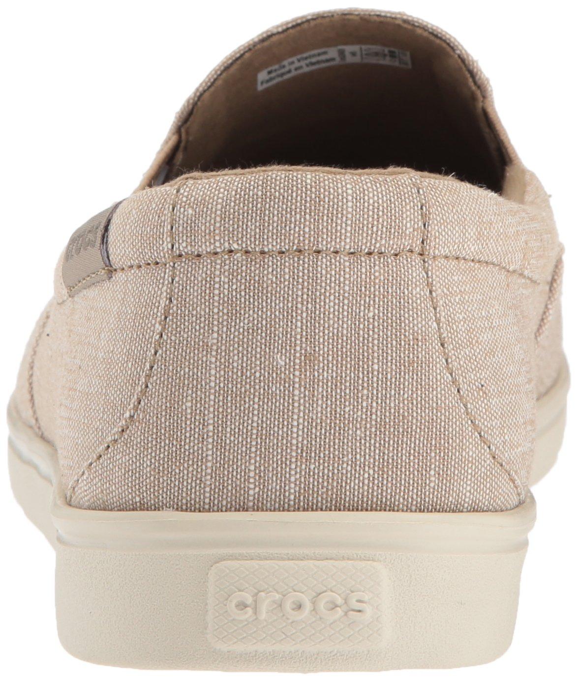 Crocs Women's Citilane Low Canvas Slip-On B071WCWT5J 9 B(M) US|Khaki