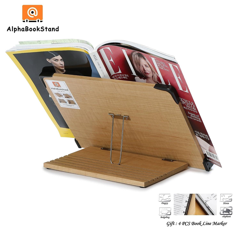 alpha book stand ab1103 ergonomic book holder w