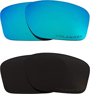 1977484a04 CHAINLINK Replacement Lenses Polarized Black   Blue by SEEK fits OAKLEY