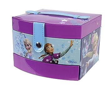 Markwins Frozen Beauty Boutique Kosmetikkoffer enthält Kinderschminke, Schmuck und Sticker