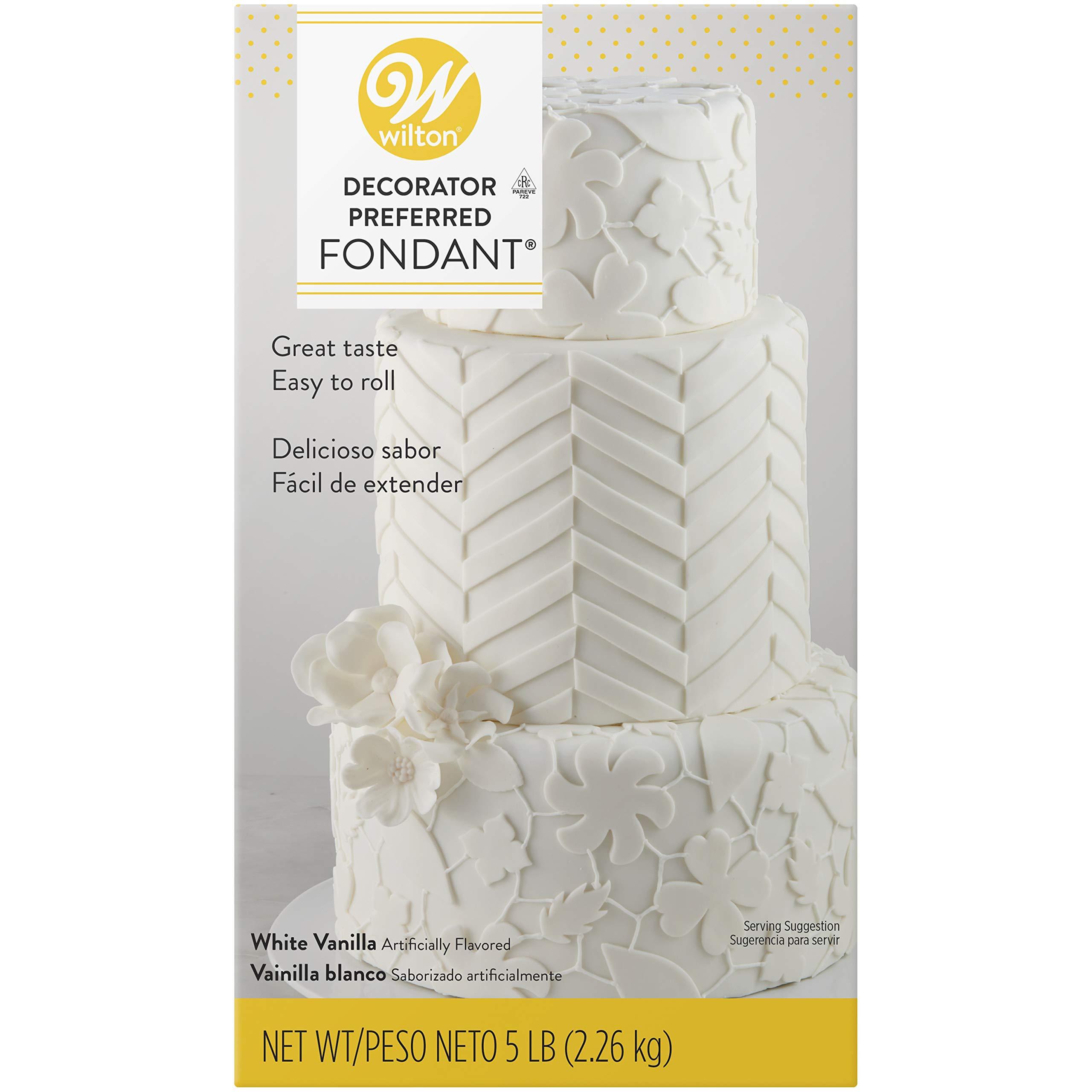 Wilton Decorator Preferred White, 5 lb. Fondant, Pack of 1