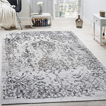 Teppich Shabby amazon de paco home designer teppich wohnzimmer teppiche 3d edel