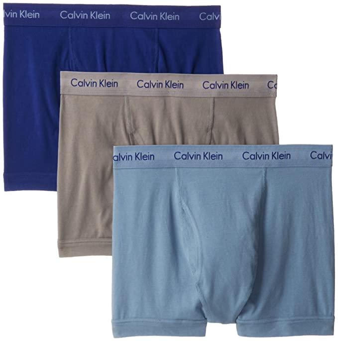Calvin Klein para Hombre, 3 Unidades algodón elástico Tronco: Amazon.es: Ropa y accesorios