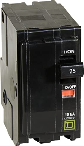 Square D by Schneider Electric QO225CP QO 25-Amp Two-Pole Circuit Breaker