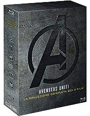 Avengers collezione 1-4 bluray
