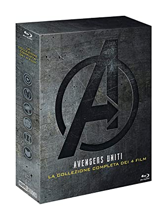 Avengers Collection (5 Blu-Ray) [Italia] [Blu-ray]: Amazon.es ...