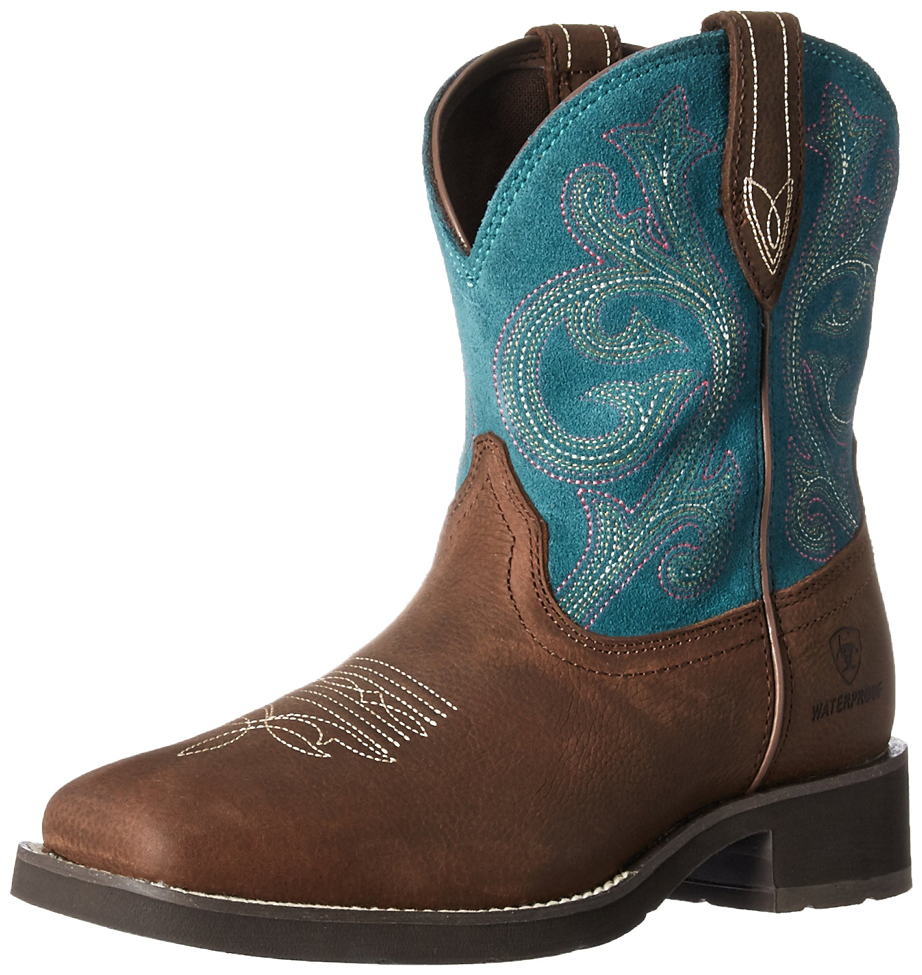 Ariat Women's Shasta H2O Work Boot, Baked Brown, 9.5 B US