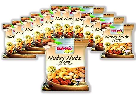 Amazon.com: Koh Kae Plus Nutrition Nut Mix 35 G.pack 12: Kitchen ...