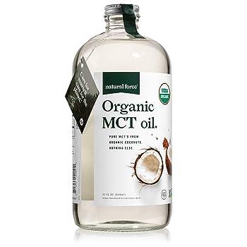 Natural Force Organic Virgin MCT 32-oz Coconut Oil