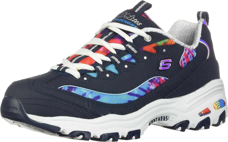 Skechers Women's D'Lites-Summer Fiesta Sneaker