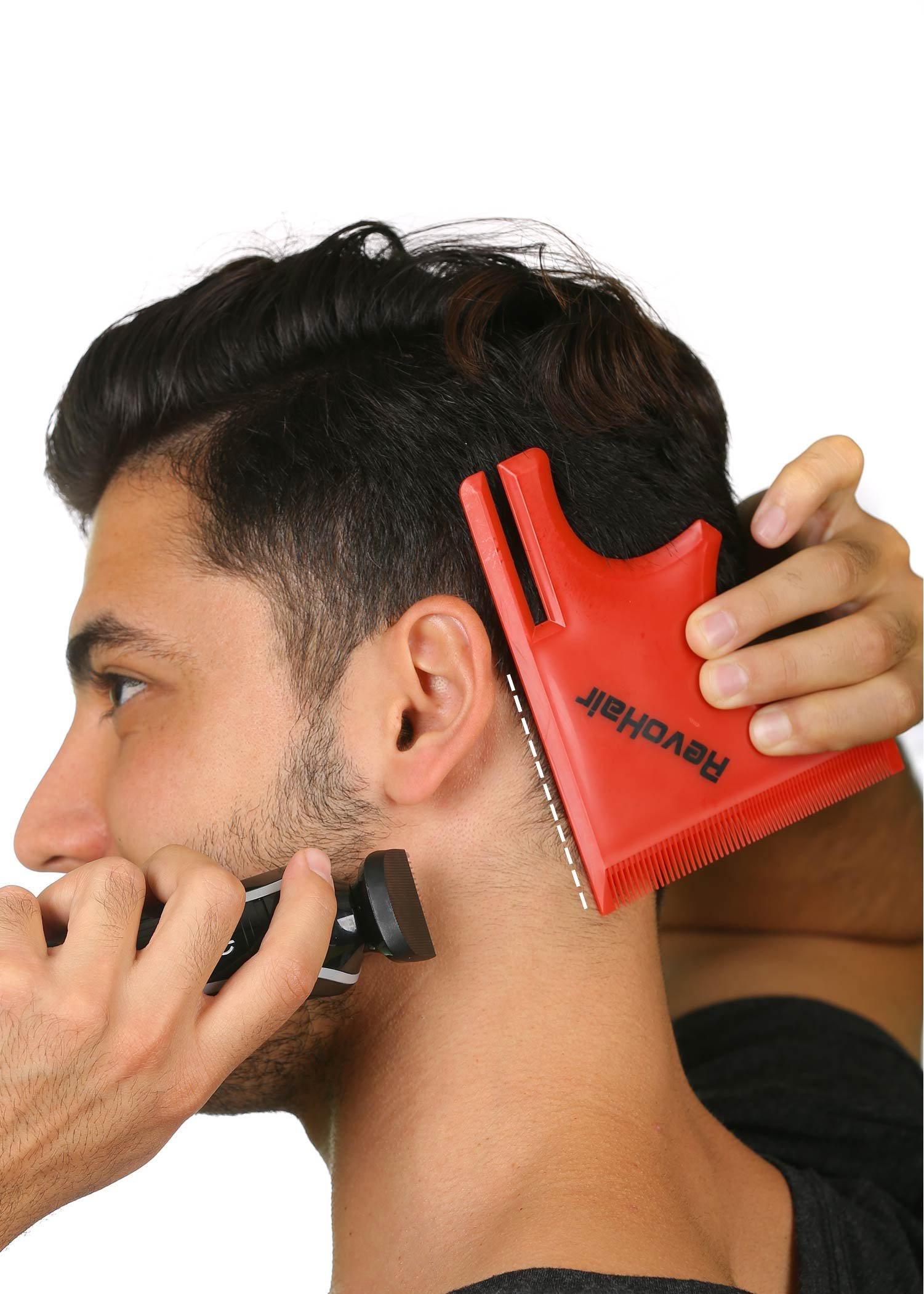 Revohair haircut tool multi curve hairline templatestencilguide revohair haircut tool multi curve hairline templatestencilguide for men barber supplies lightweight with hair beard comb lineup edge up do solutioingenieria Gallery