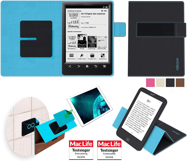 reboon Funda para Sony PRS-T3 | in Negro | Carcasa Multifuncional ...