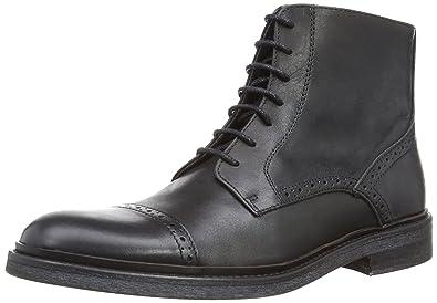 Dune Men s Chino Boots 0473506380007484 Black Leather 10 UK 7dac3e10a