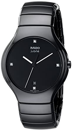 def95aeac Buy Rado Men s R27653742 True Jubile Analog Display Swiss Quartz ...