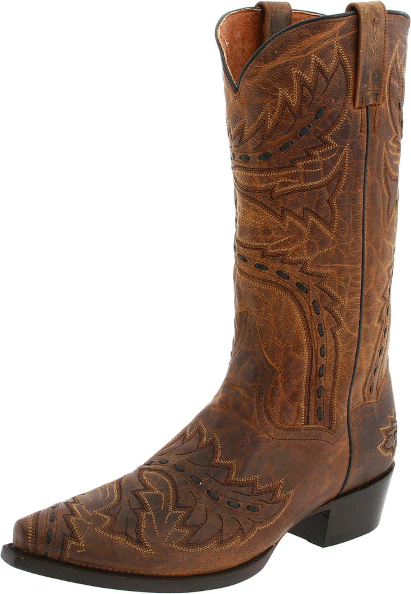 Dan Post Men's Sidewinder Western Boot,Tan,10.5 D US