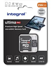 256GB Micro SD Card 4K Ultra-HD Video Premium High Speed Memory Card Microsdxc Up To 100MB/S V30 UHS-I U3 A1 C10, by Integral