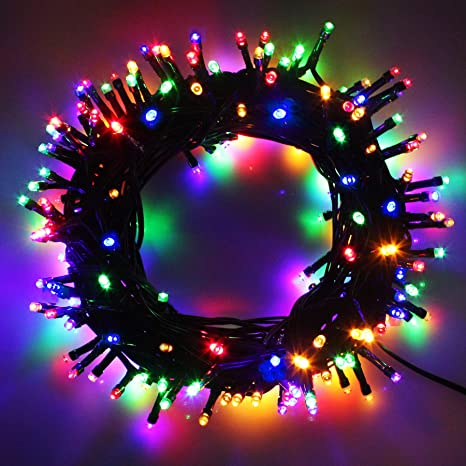 LED Weihnachtsbeleuchtung 100-1000 LED Lichterkette Wasserdicht Innen Außen DE