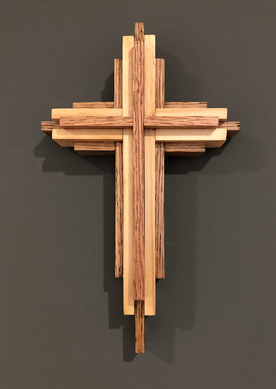 Layered Wooden Cross