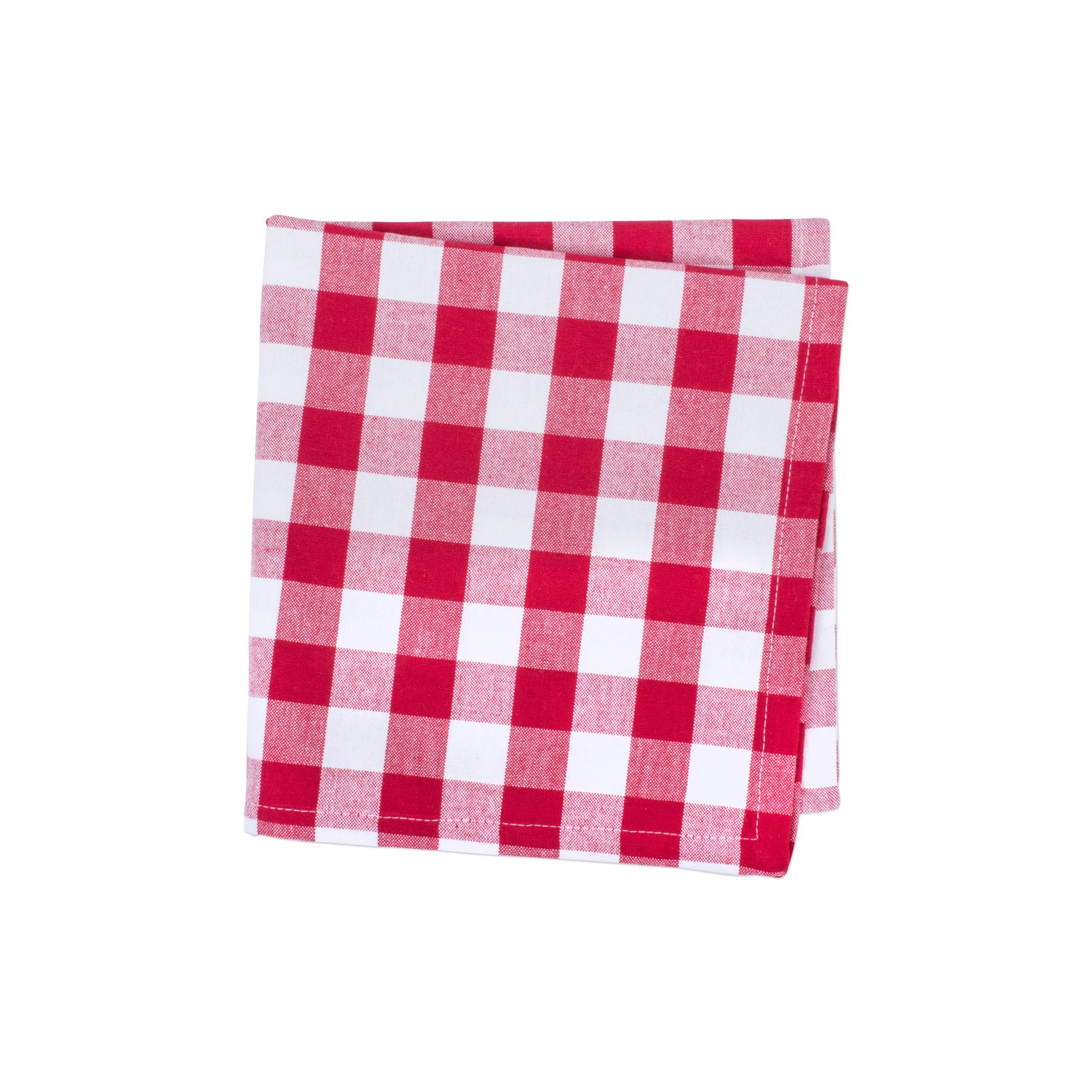 DII Oversized 20x20 Cotton Napkin, Pack of 6, Red & White Check - Perfect for Fall, Thanksgiving, Farmhouse DÃcor, Christmas, Picnics & Potlucks or Everyday Use by DII (Image #4)