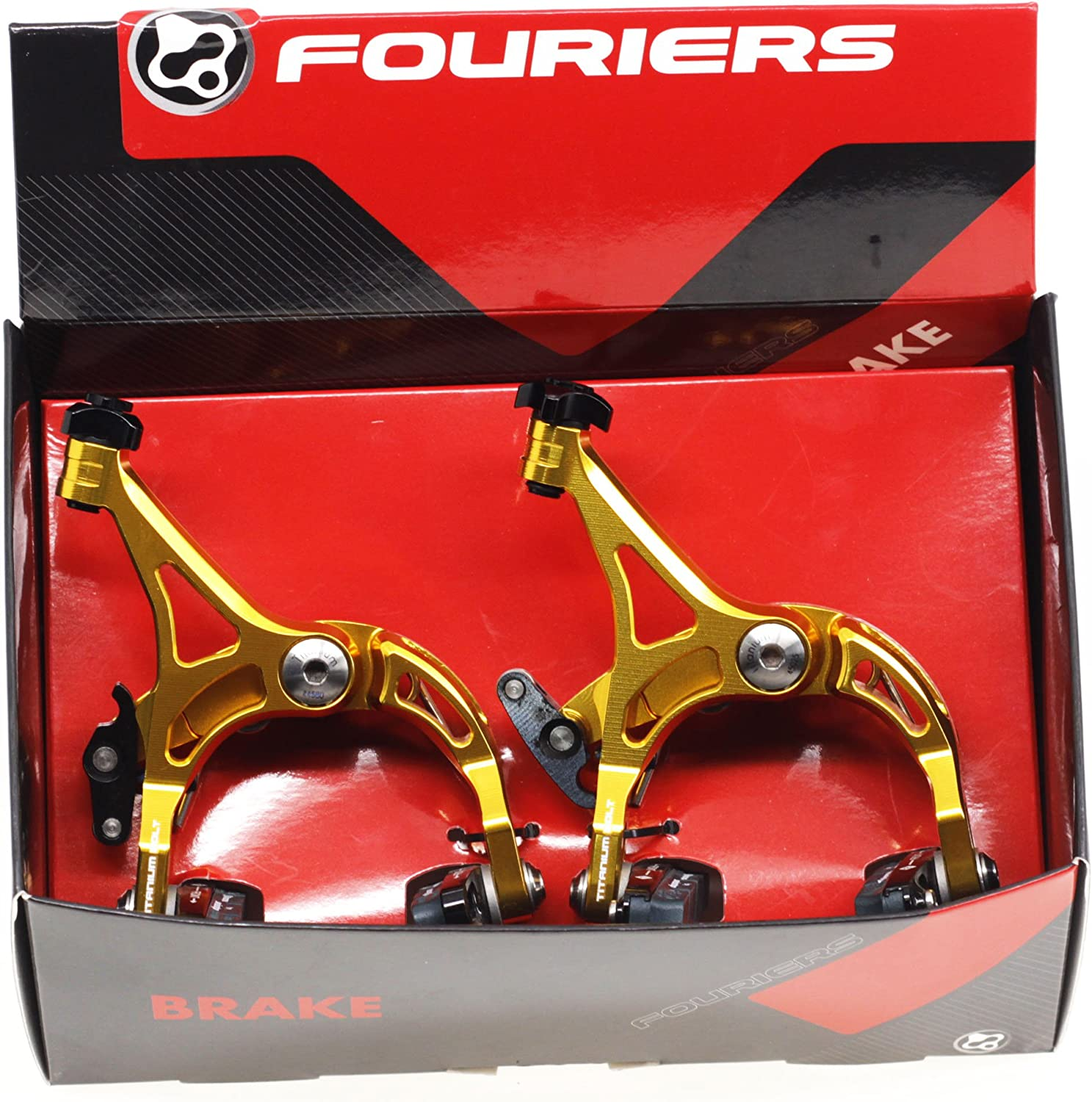 BR-S003 FOURIERS Road Bike Bicycle Forged Caliper Brake Set Front /& Rear