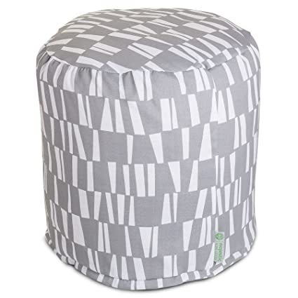 Amazon.com: Majestic Home Goods Pouf, pequeñas, bastones ...