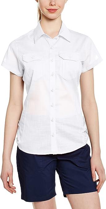 Columbia Camp Henry Solid - Camisa/Camiseta para Mujer: Amazon.es: Zapatos y complementos