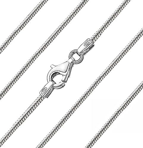 Genuine Solid 925 Sterling Silver Snake Chain Necklace UK Seller