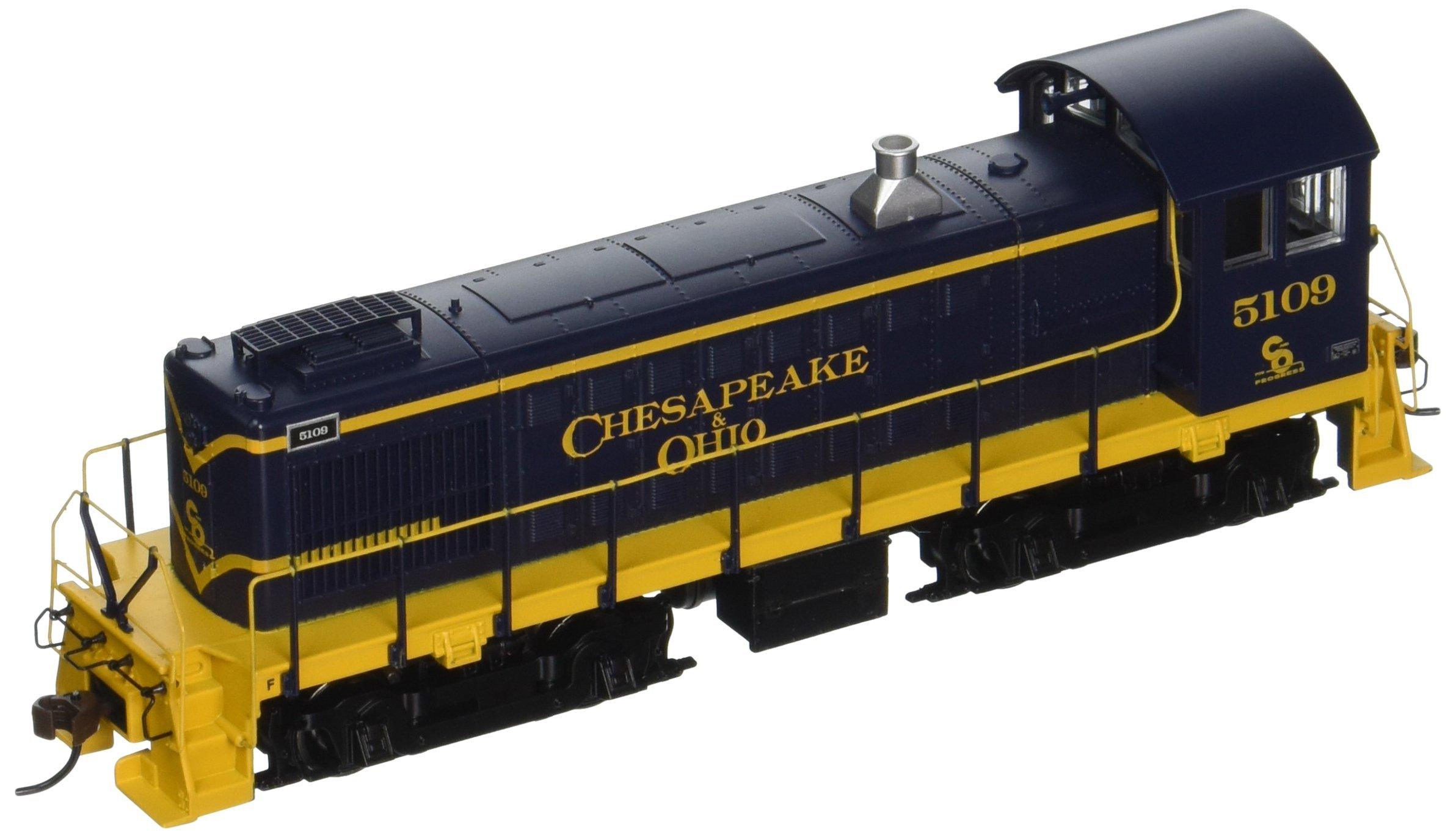 Bachmann Industries ALCO S4 DCC C & O #5109 Sound Value Equipped Locomotive (HO Scale)