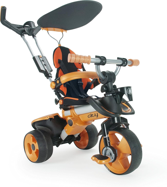 Injusa- City Triciclo, Color naranja (326)