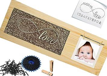 Bastelset Baby Holz Selbst Gestalten Babygeschenk Taufgeschenke Geschenke Zur Geburt Kommunion Taufe Geschenk Selbst Gemacht Junge Mädchen Jungs
