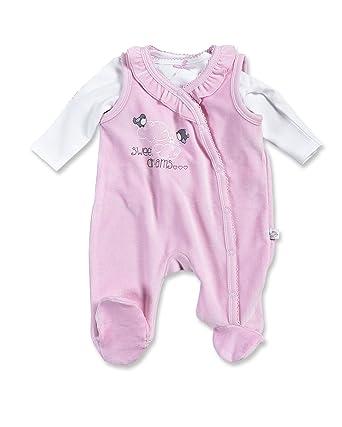 blue seven - Pelele - para bebé niña Rosa,Weiss 62: Amazon.es: Ropa y accesorios