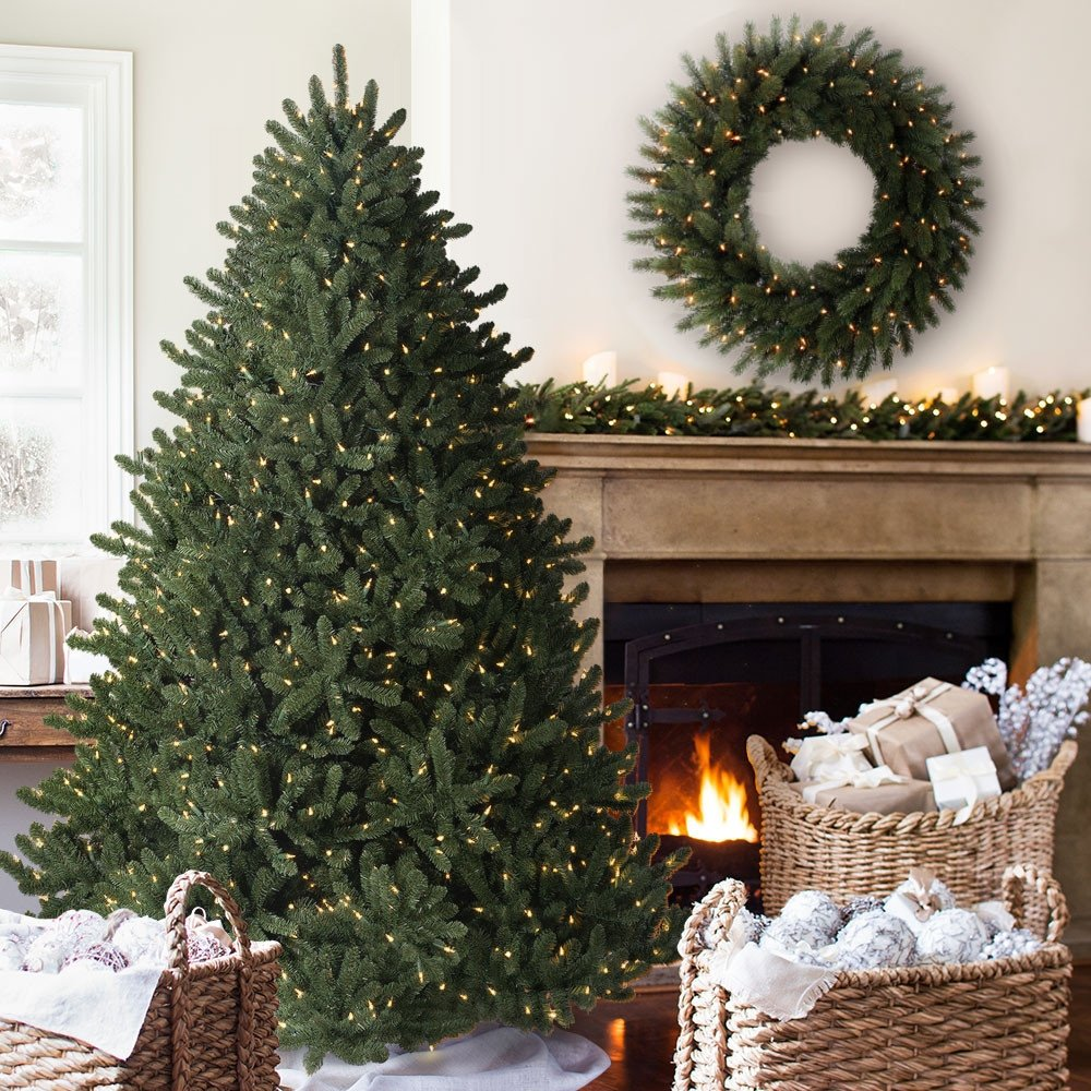 Balsam Hill Adirondack Spruce Prelit Artificial Christmas Tree, 6 Feet, Clear Lights